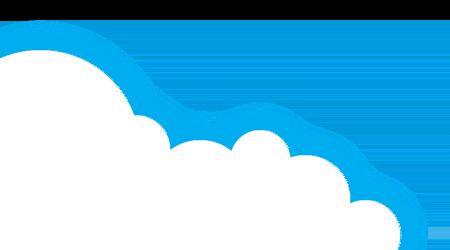 Left cloud