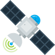 Connect background satellite
