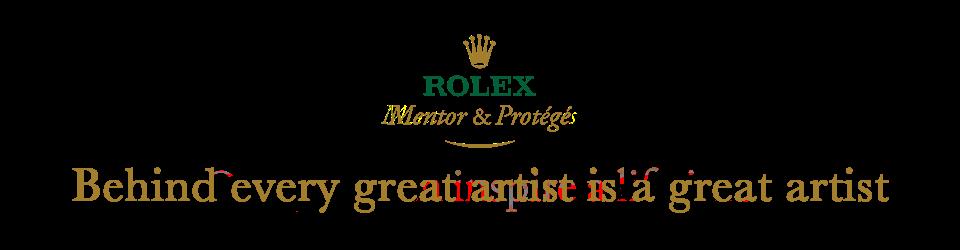 Rolex Mentor and Protege Arts Initiative
