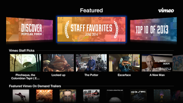 Discover great videos faster on apple tv on vimeo have time to watch every single staff pick our monthly staff favorites albums highlight the best of the best weve also added the winners of our vimeo stopboris Gallery