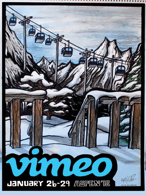 This is a Vimeo poster for the X Games